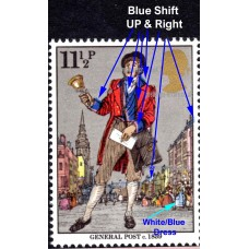 6172-SG1096-574-xe172-11½p-Blue-Colour-Shift-Up-and-Right