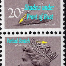 Package17-GB-Definitives-20P-22P-7xStamps-with-various-errors